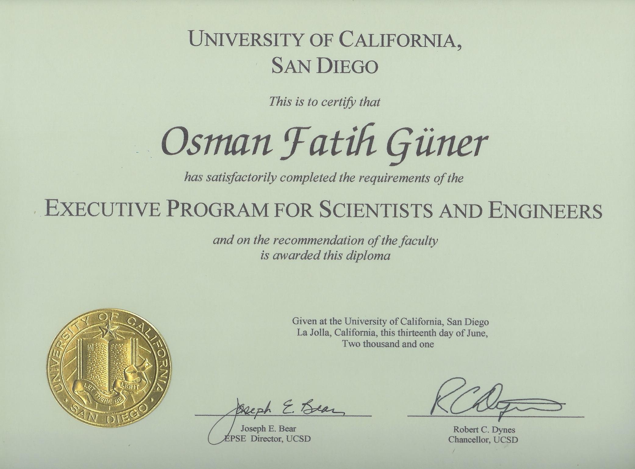 Certificate Programs University Certificate Programs